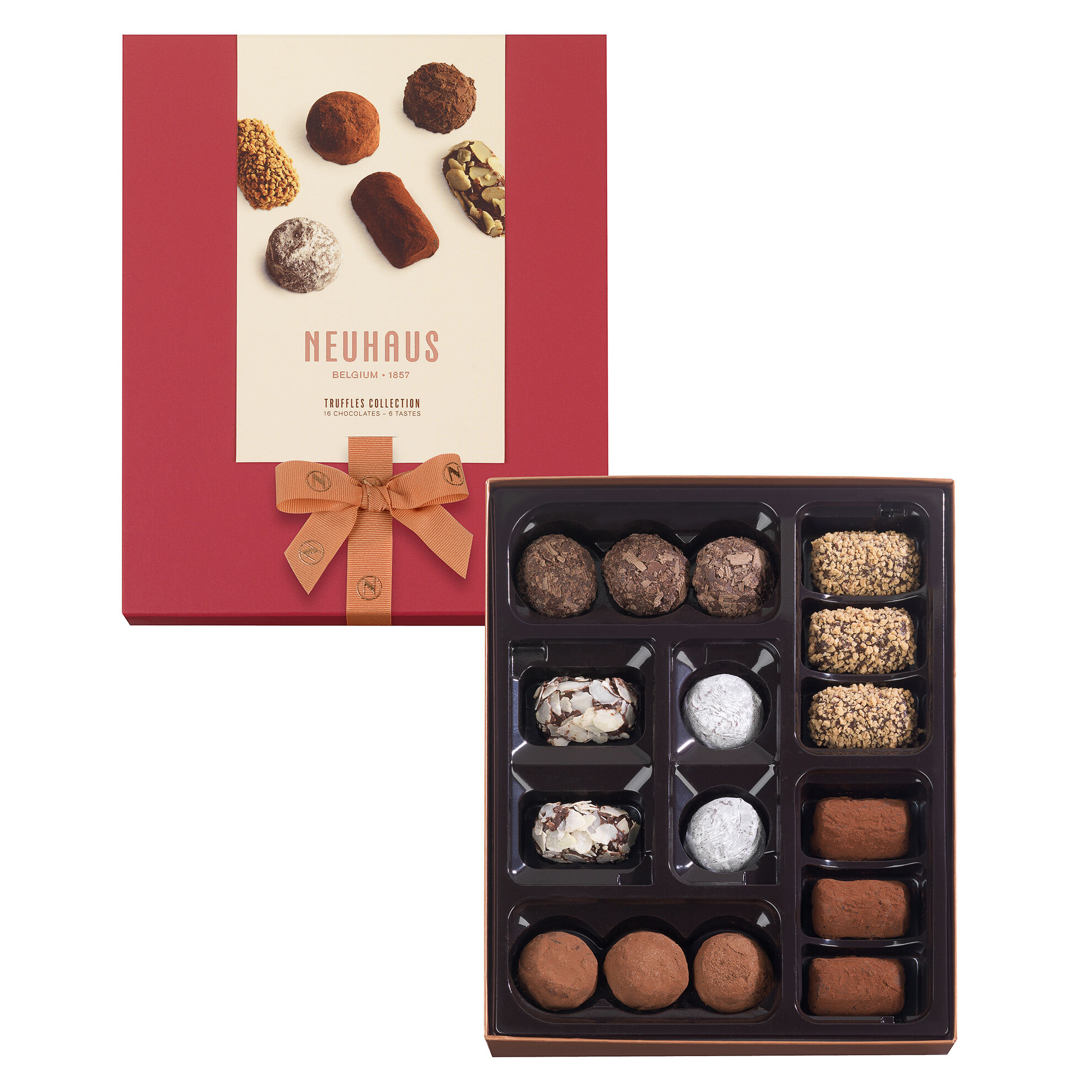 Neuhaus Collection Truffles Assortment 16 pcs image number 01