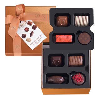 Small Square Gift Box With Ribbon 8 pcs