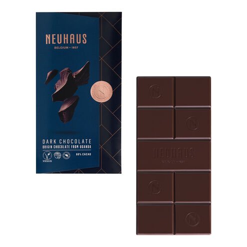 Dark Chocolate 80% from Uganda Tablet image number 01