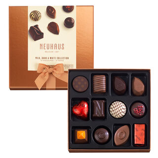 Neuhaus Discovery Collection: Milk, Dark, White Chocolate Assortment 12 pcs