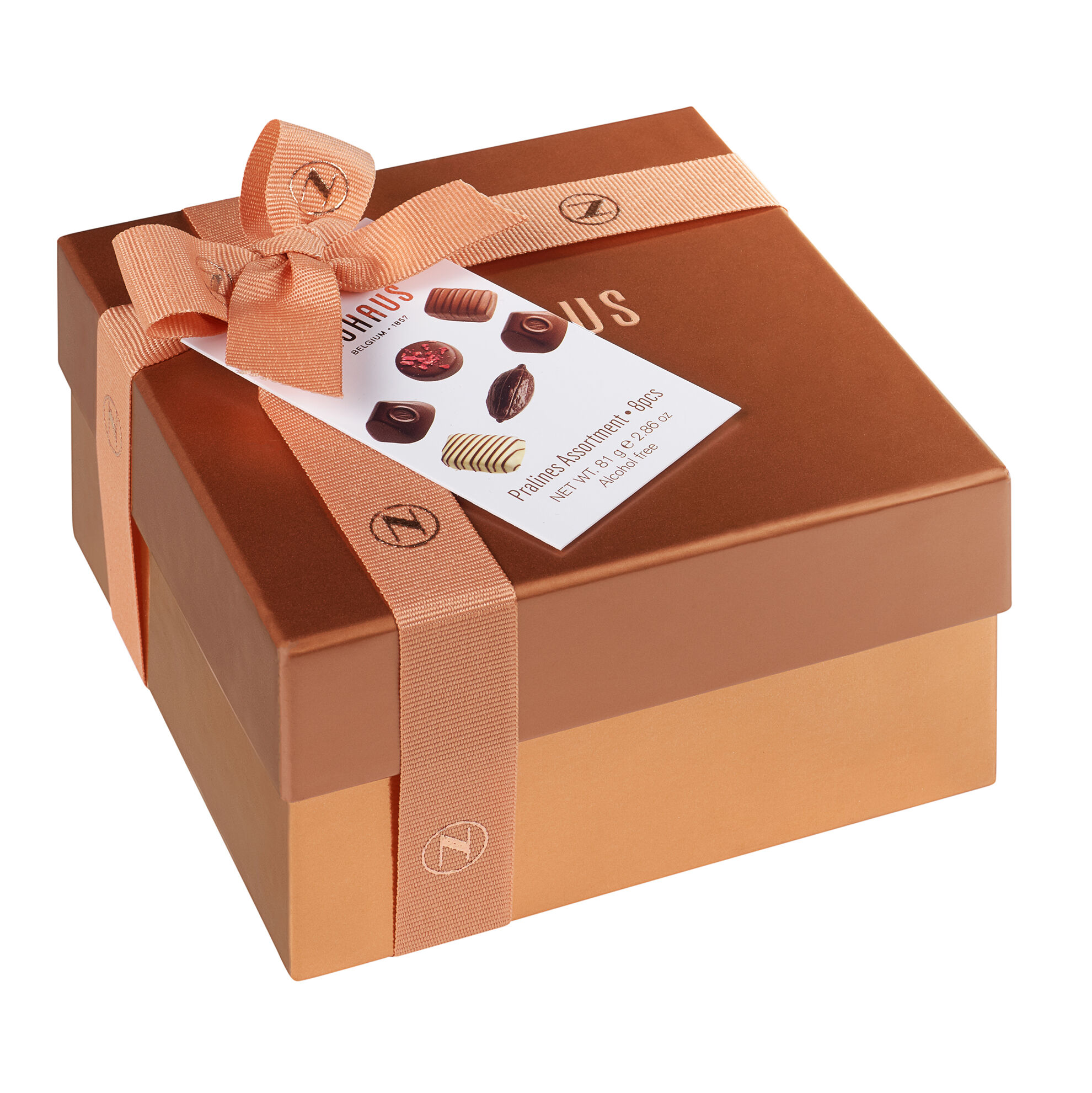Small Square Gift Box With Ribbon 8 pcs image number 11