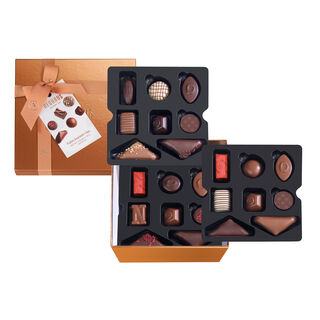 Large Square Gift Box With Ribbon 24 pcs