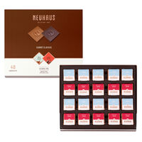 Belgian Chocolate Squares - Carré Classic Milk & Dark 40 pcs