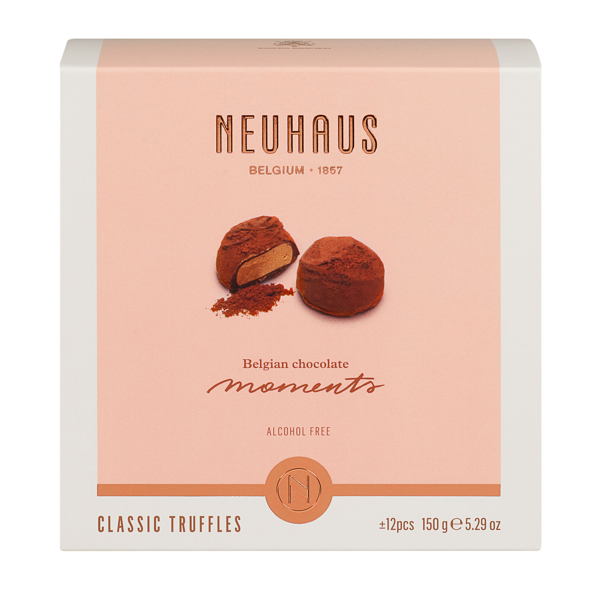 Belgian Chocolate Moments Classic Truffles 150g image number 11