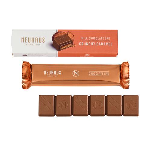 Milk Chocolate Crunchy Caramel Bar image number 01