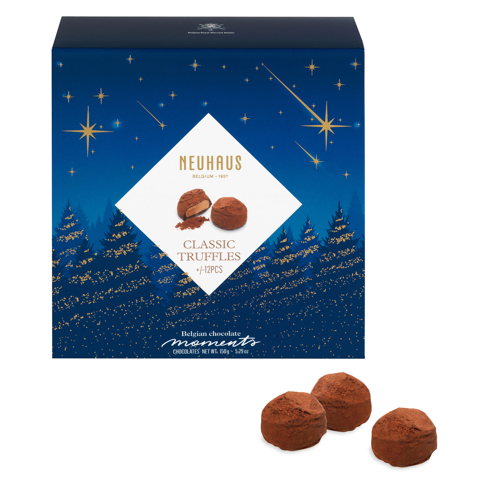 Belgian Chocolate Moments Truffles Winter image number 01