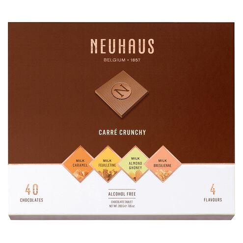 Belgian Chocolate Squares - Carré Crunchy Milk 40 pcs image number 11