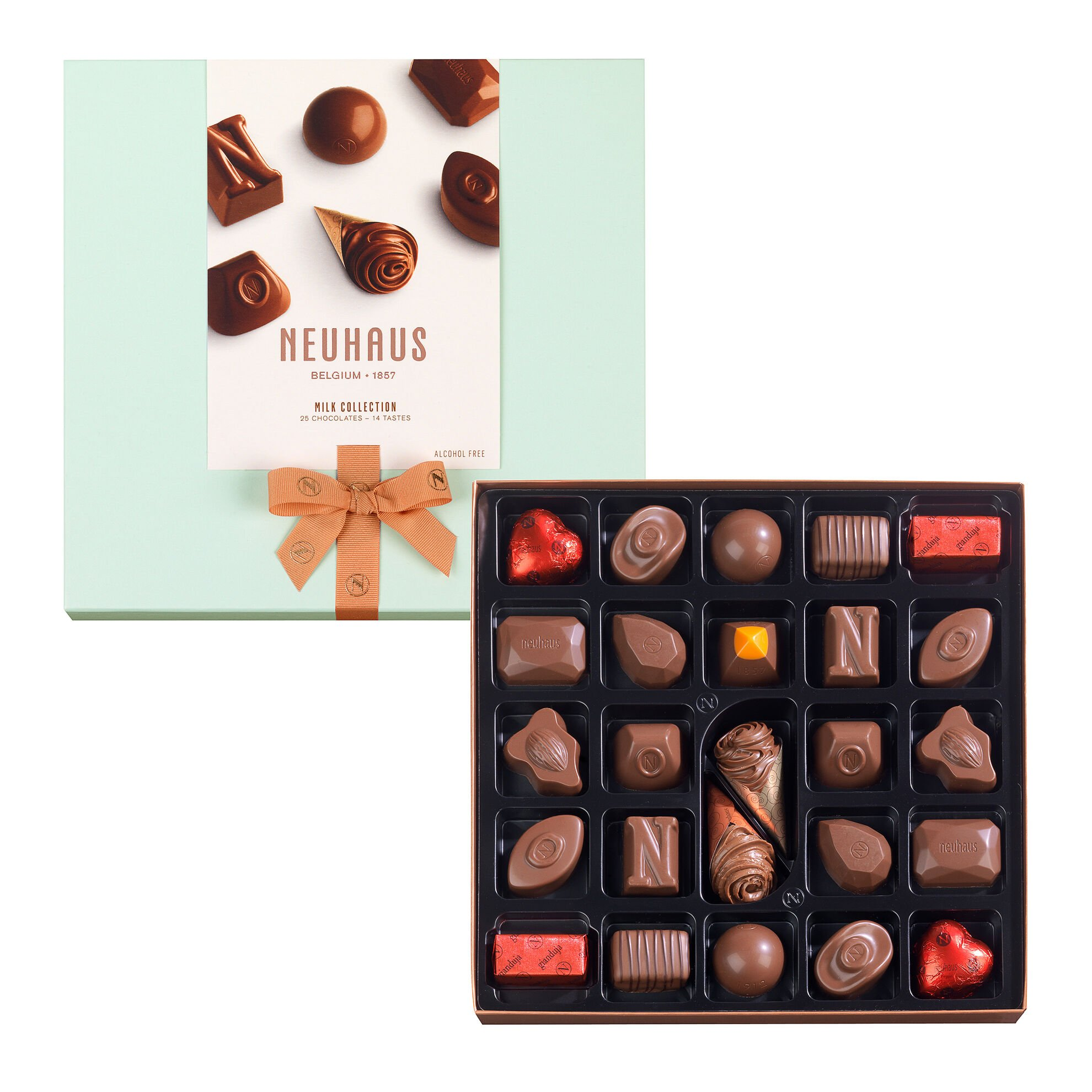 Neuhaus Collection Milk Chocolate Assortment 25 pcs image number 01