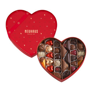 Valentine Chocolate Heart Medium Assorted 28 pcs