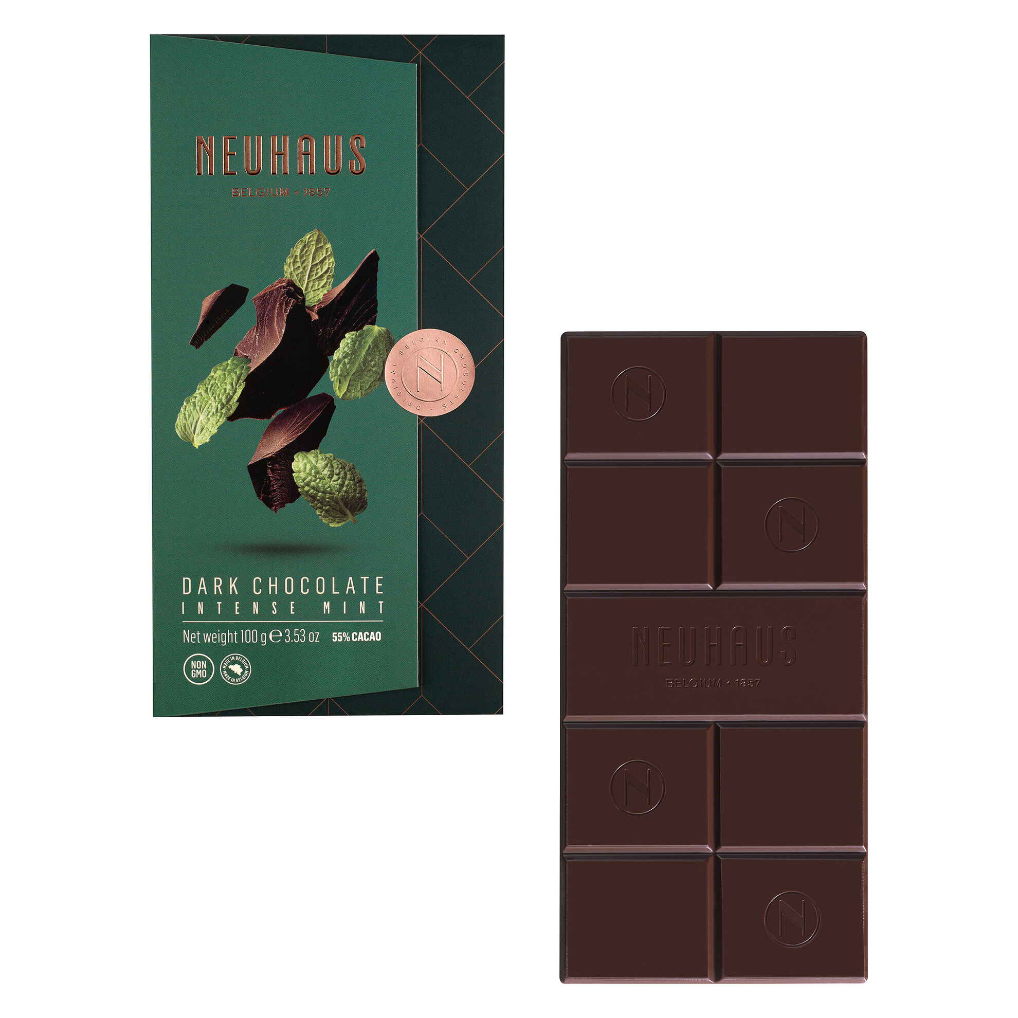 Dark Chocolate Mint Tablet image number 01