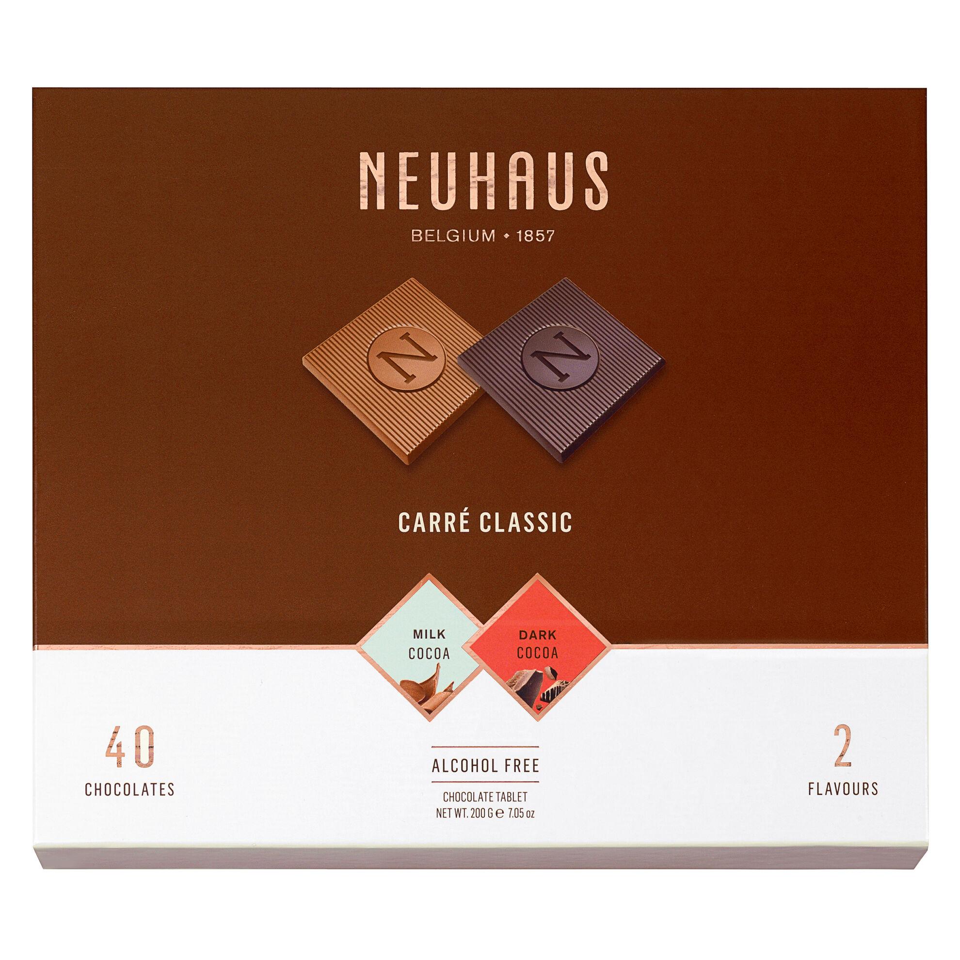 Belgian Chocolate Squares - Carré Classic Milk & Dark 40 pcs image number 11