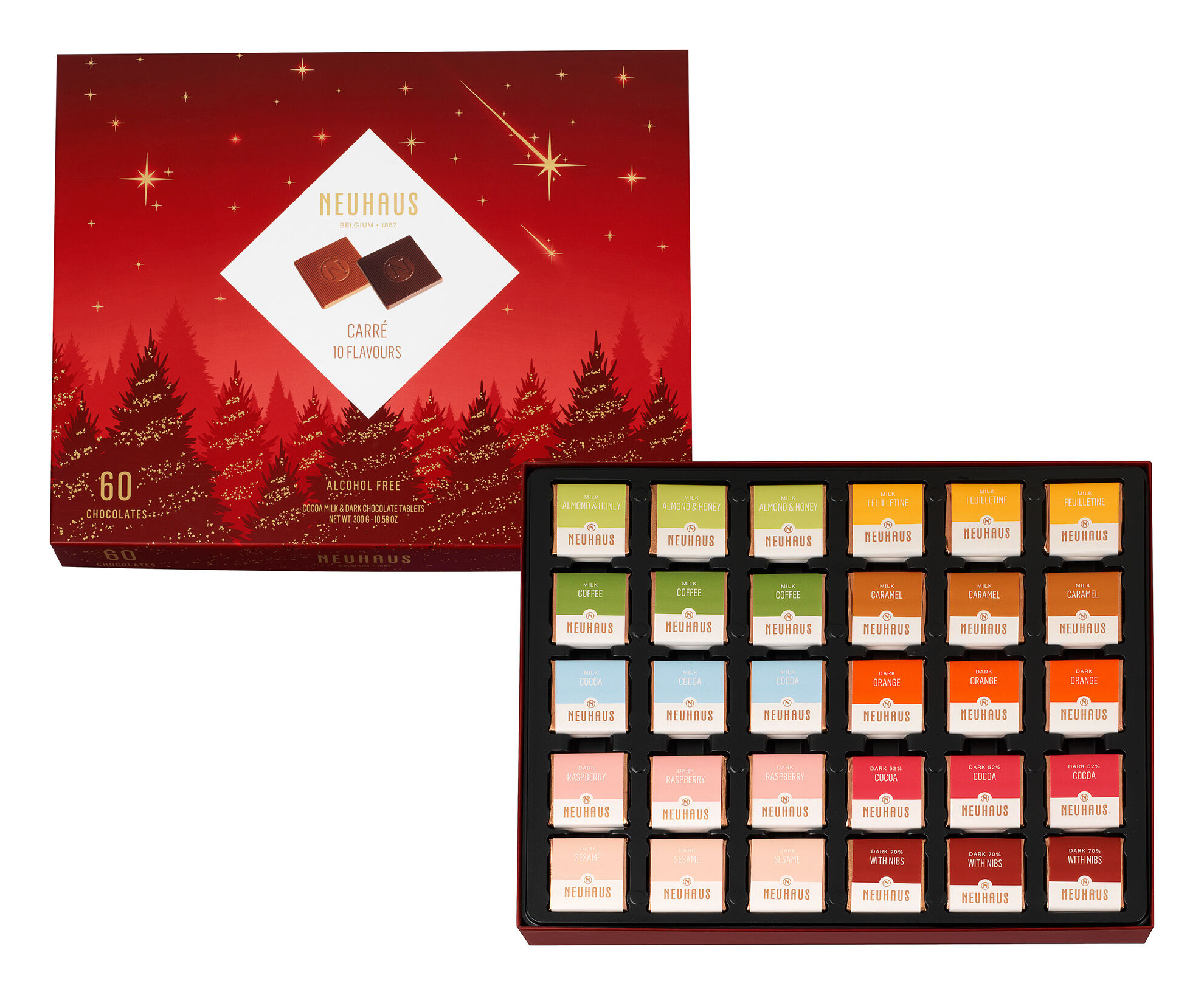 Holiday 10 Flavor Carre image number 01