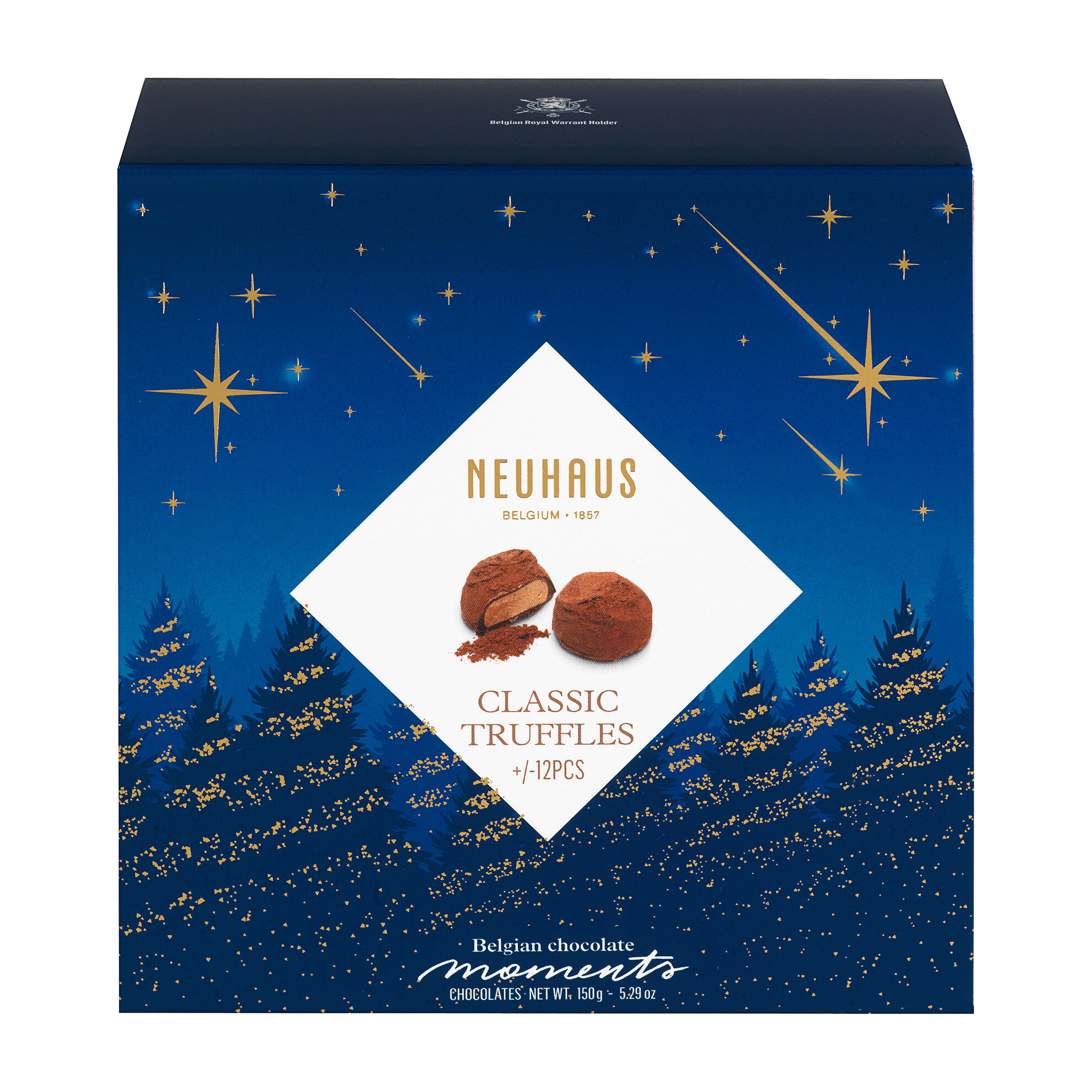 Belgian Chocolate Moments Truffles Winter image number 11