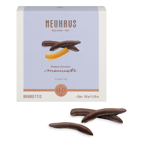 Belgian Chocolate Moments Orangettes 150g image number 01